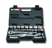 Socket set 26pc
